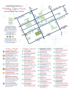 Downtown Holiday Open House 2017 PDF Map